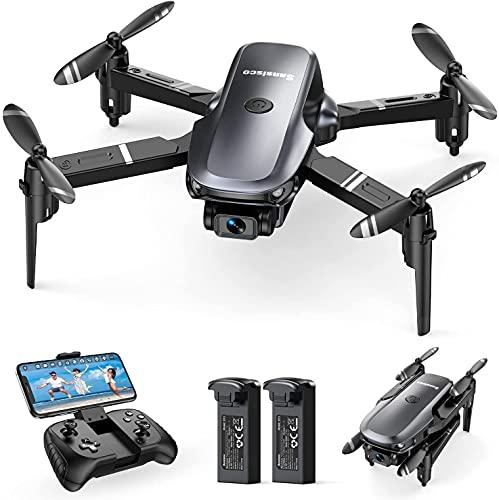 Sansisco D15 Mini Drone con Camara 1080P, Drone Plegable con FPV...