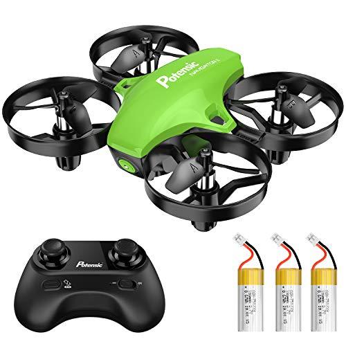 Potensic Mini Drone para Nios, Drone A20 Quadcopter con Control...
