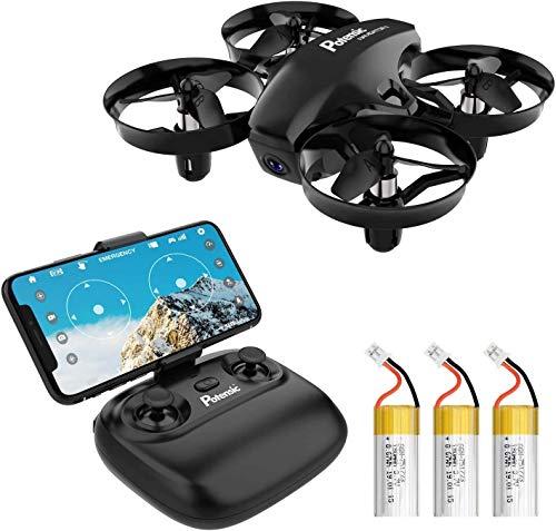 Potensic Mini Drone con Cmara, RC Quadcopter 2.4G 6 Ejes - Diseo...
