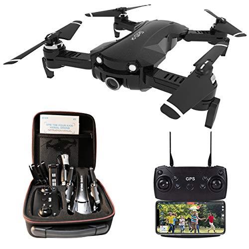 le-idea Drone con Camara 4K HD, Drone 5GHz WiFi FPV Tiempo Real,...