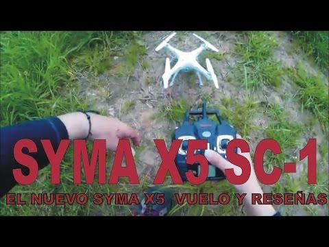 Syma X5 sc-1 (nuevo modelo Syma X5) Vuelo y valoración