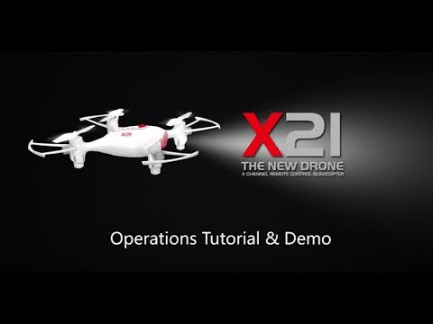 SYMA X21W FPV Real-Time Operation Tutorial