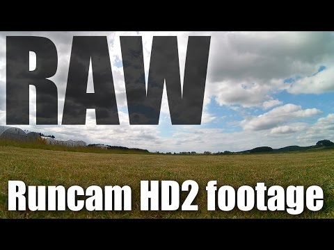 Raw video: Runcam HD 2 action camera