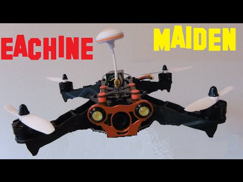EACHINE FPV RACER 250 - MAIDEN with RUNCAM ONBOARD - QUADCOPTER