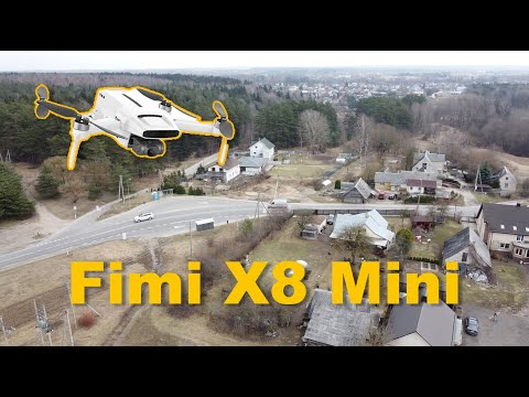 Fimi X8 Mini 4K camera test footage sample