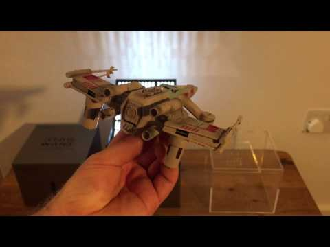 Star Wars X-Wing Battle Drone! Unboxed and flying
