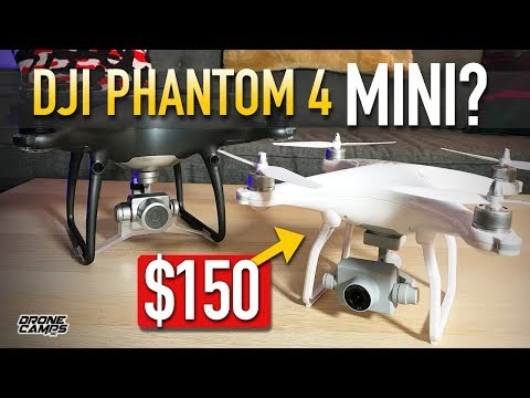 DJI PHANTOM 4 MINI Drone? - WlToys XK X1 Gps 1080p Drone - REVIEW & FLIGHTS