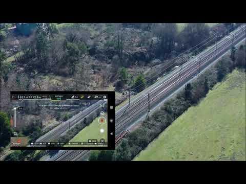 FIMI X8 SE, probando el modo SAR. (zoom x3)