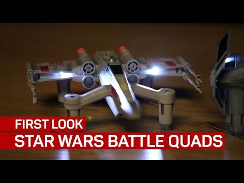 Star Wars Battle Quad drones are too awesome to fly casual