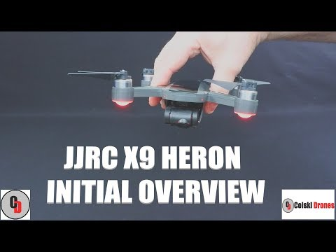 JJRC X9 HERON 1080P DRONE WITH 2 AXIS GIMBAL
