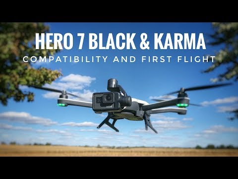 GoPro Hero 7 Black and Karma | First Flight
