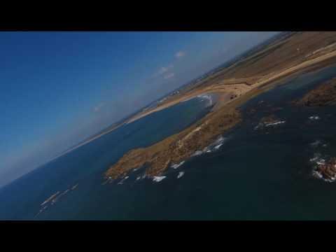 Parrot Disco 2KM+ over the sea test - Erdeven