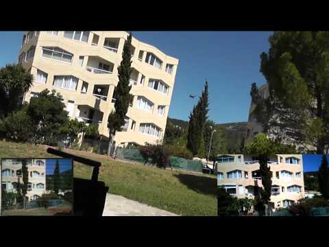 JJRC H8D outdoors test (Courtesy Banggood)