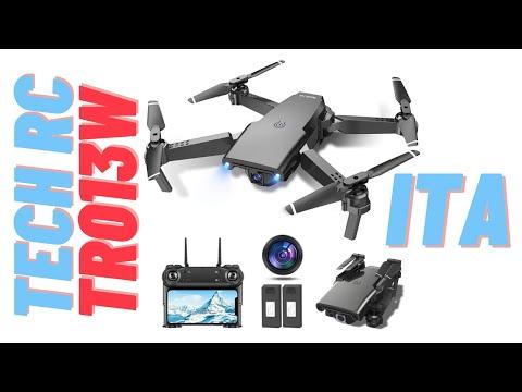 Drone quadricottero Tech RC TR013W., recensione personale ITA