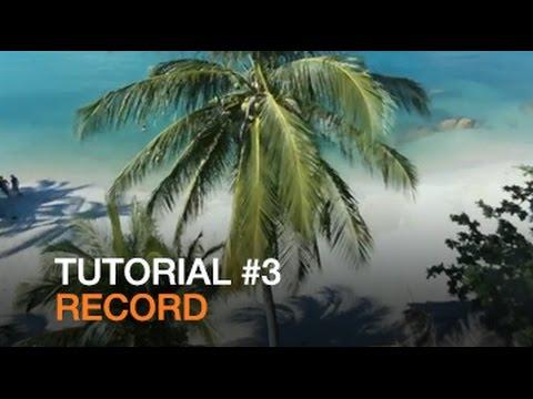 Parrot Bebop Drone - Tutorial #3 - Record