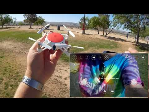 Xiaomi MITU FPV Camera Drone Flight Test Review