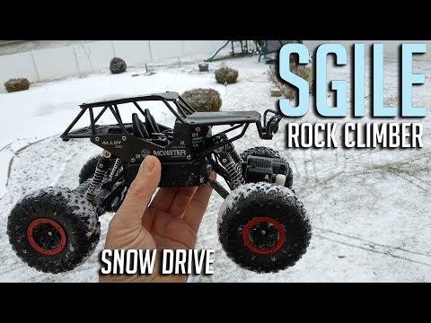 SGILE Rock Climber Snow Test Drive