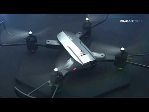 Dragon Touch DF01 Foldable Drone Gravity Sensor Altitude Hold Headless Mode One Key Take Off/Landing