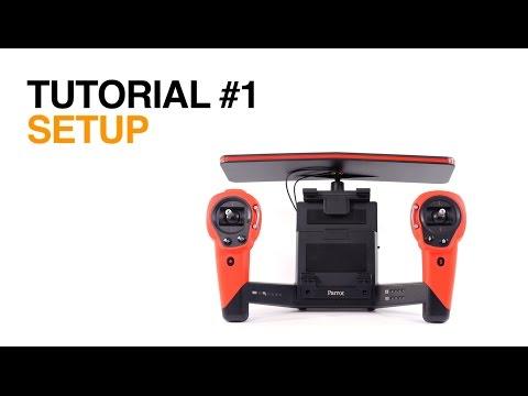 Parrot Skycontroller - Tutorial #1 - Setup