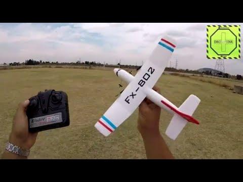 Avión de RC Flybear FX-802 muy divertido y economico! |DRONEPEDIA