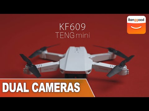 KF609 TENG Mini With Dual Cameras RC Quadcopter|Buy at Banggood