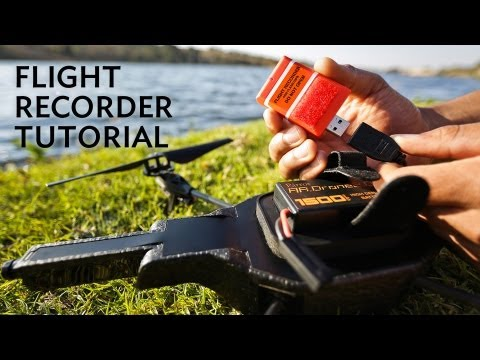 Flight Recorder GPS Tutorial with AR.Freeflight 2.4