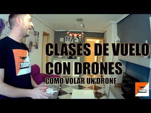 TUTORIAL DE VUELO DRONES, como volar un drone facil y sencillo