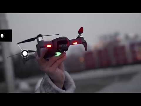 Dazzling moments with 4K camera drone