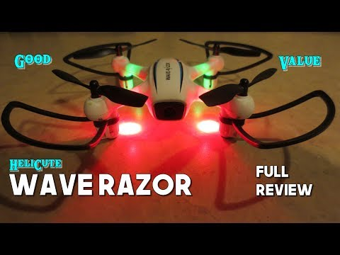 Helicute Wave Razor WiFi FPV Altitude Hold with 720p Camera Review - Good Value with this one