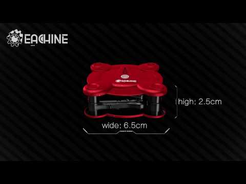 EACHINE E55 WiFi FPV Quadcopter With Camera Altitude Hold Foldable Pocket RC Mini Nano Drone