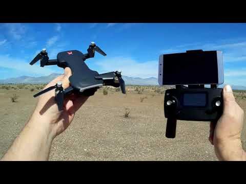 MJX Bugs 7 B7 No Registration GPS Brushless 4K Video Drone Flight Test Review