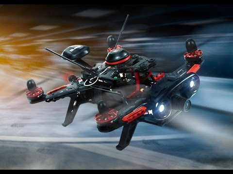 Walkera Runner 250 Advanced GPS Racing Quadcopter Drone Unboxing & Flight Test