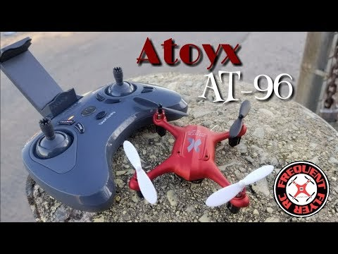 Atoyx AT-96 Outdoor Test Flight