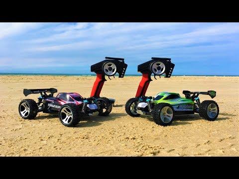 WLToys A959-B vs WLToys A959 Summer Beach Run! High Speed RC Cars In-Depth Comparison Part 2!