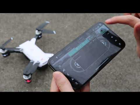 Original and unedited video of IDEA10 GPS drone App control