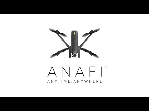 Parrot ANAFI - The flying 4K HDR camera- Official video