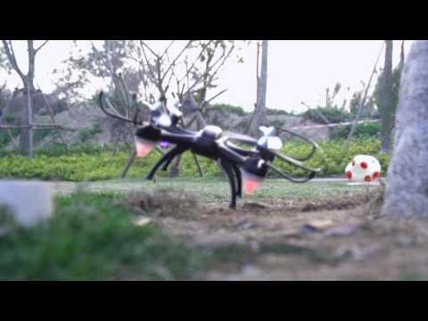 Beat Quadcopter-Eachine E33C 2.4G 6CH With 2MP Camera Headless Mode LED RC Quadcopter RTF