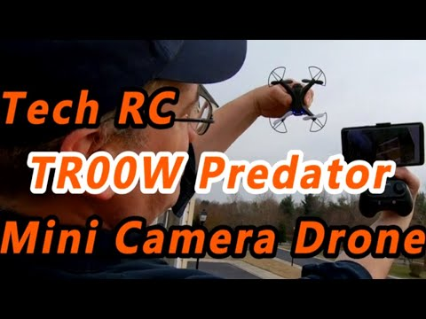 New Review of TECH RC Mini Quadcopter Camera drone