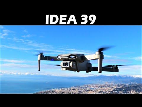 💥 RECENSIONE: 🛸 IDEA39 un drone pieghevole con GPS e motori brushless - Test e istruzioni - Le-Idea