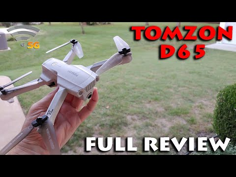 Tomzon D65 Foldable GPS Drone Review
