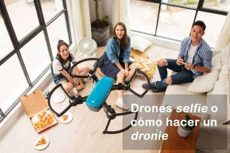 drones selfie
