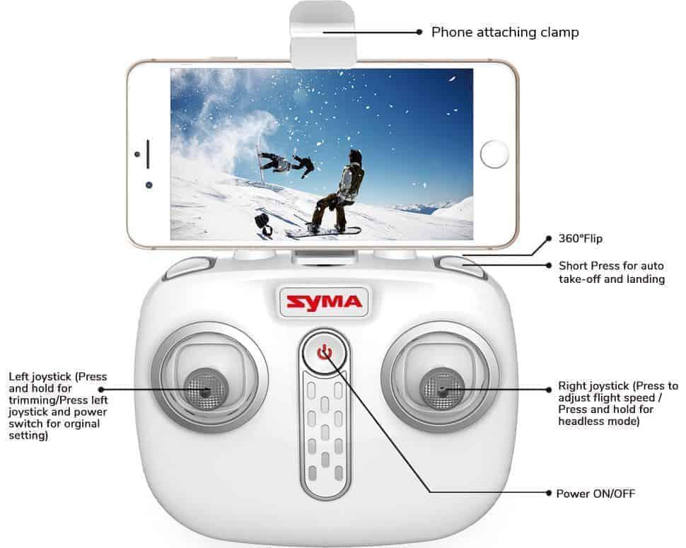 syma x25 pro radio control