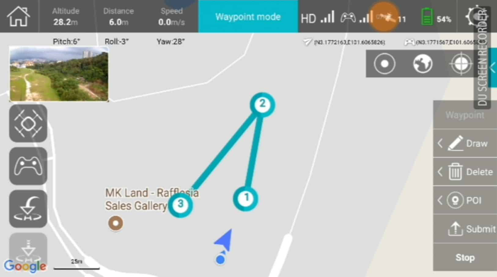 Waypoint Navigation hubsan desire