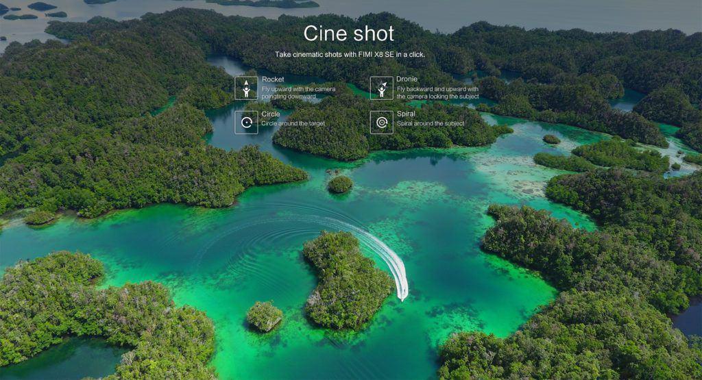 Xiaomi FIMI X8 SE smart shot