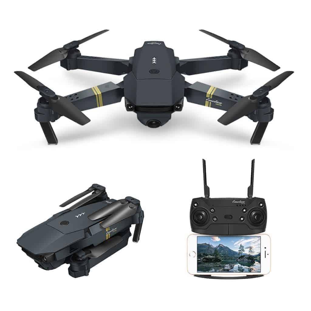 drones plegables con camara