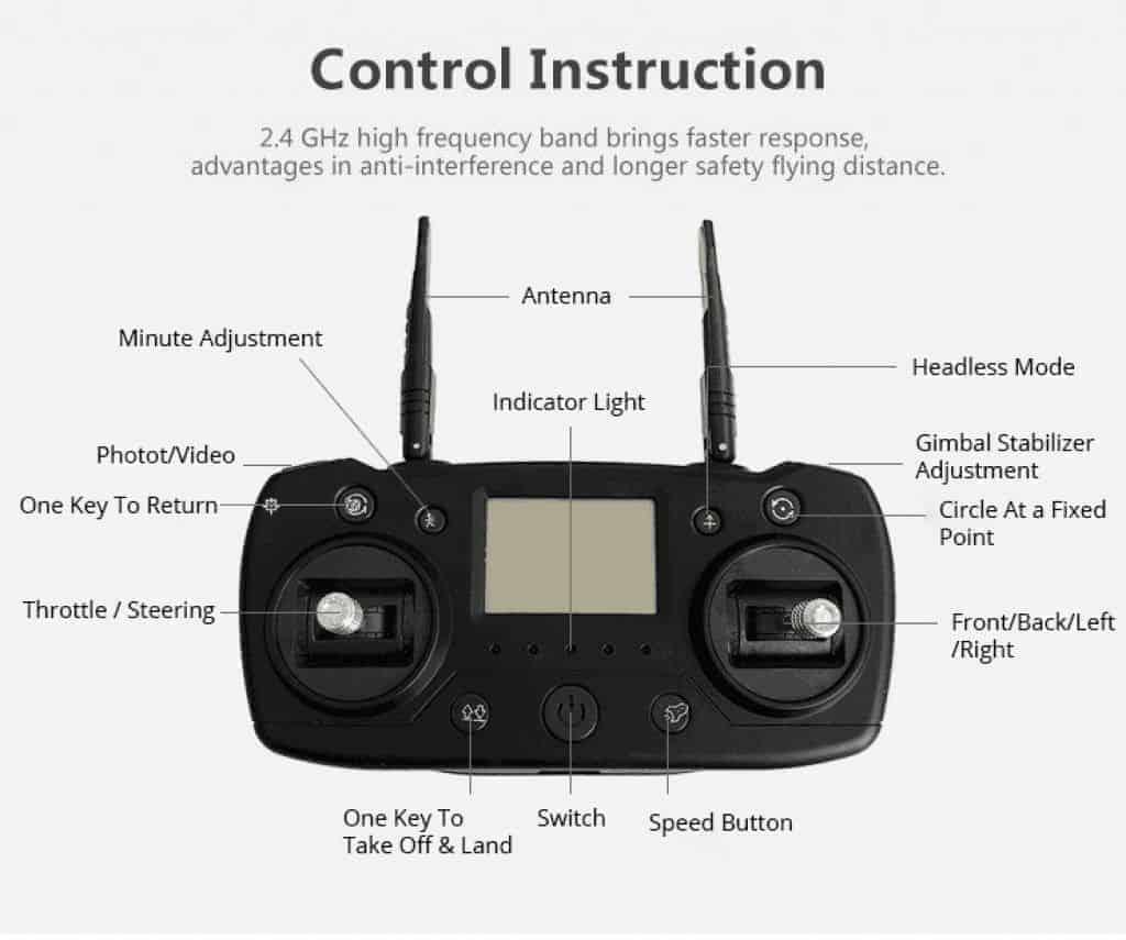 AOSENMA CG033 radio control