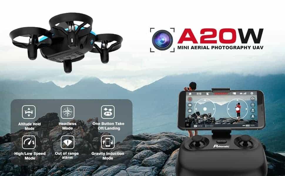 drone para niños potensic a20w
