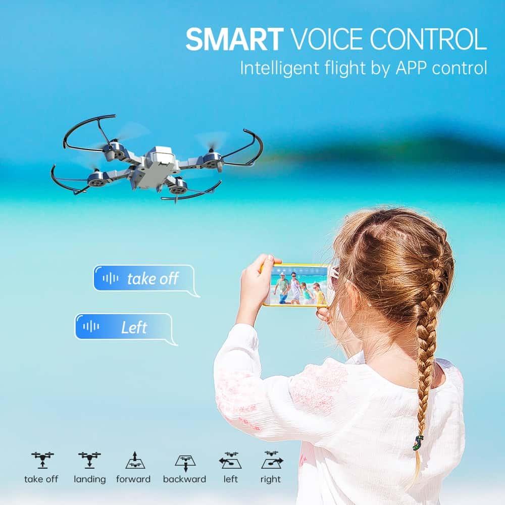 Snaptain A10 control por voz