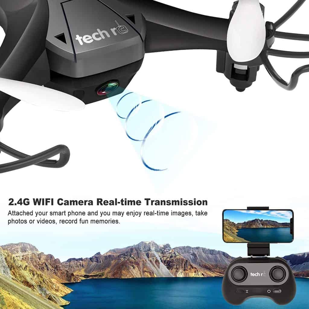 Tech RC Mini Drone camara