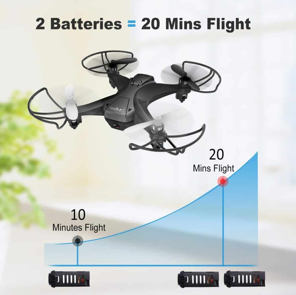 Tech RC Mini Drone con camara hd